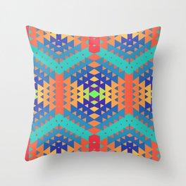 Indigena Fractal 2 Throw Pillow