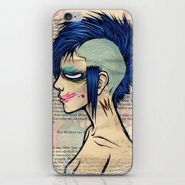 Mohawk iPhone Skin