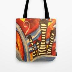 Tiny Town Tote Bag