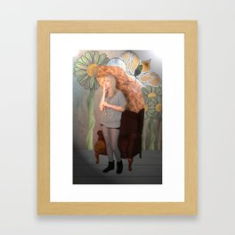 """'To a Mountain Daisy"""" Framed Art Print"""