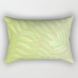 Vintage fern leaves. Rectangular Pillow
