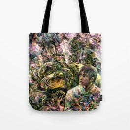 Lady of the Copper Mountain Tote Bag