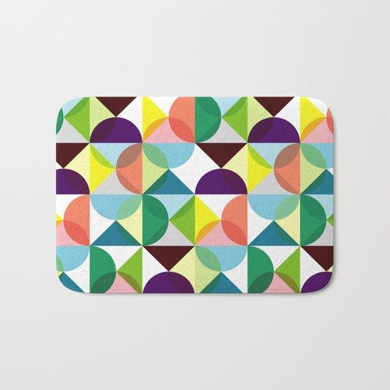 Geometric Pattern #3 Bath Mat