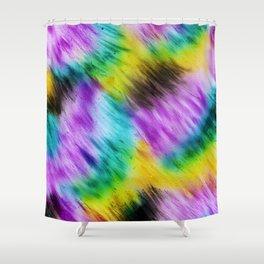 Rainbow furs Shower Curtain
