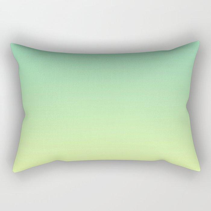 LAKE BY THE SEA - Minimal Plain Soft Mood Color Blend Prints Rectangular Pillow