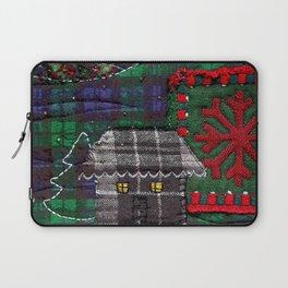 Christmas cabin Laptop Sleeve