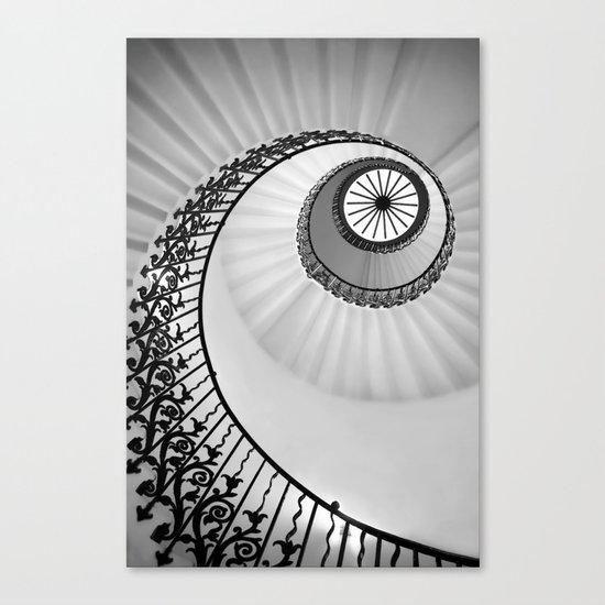Ammonite Canvas Print