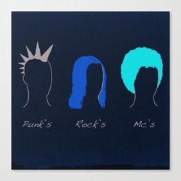 Classic Hair Style Canvas Print