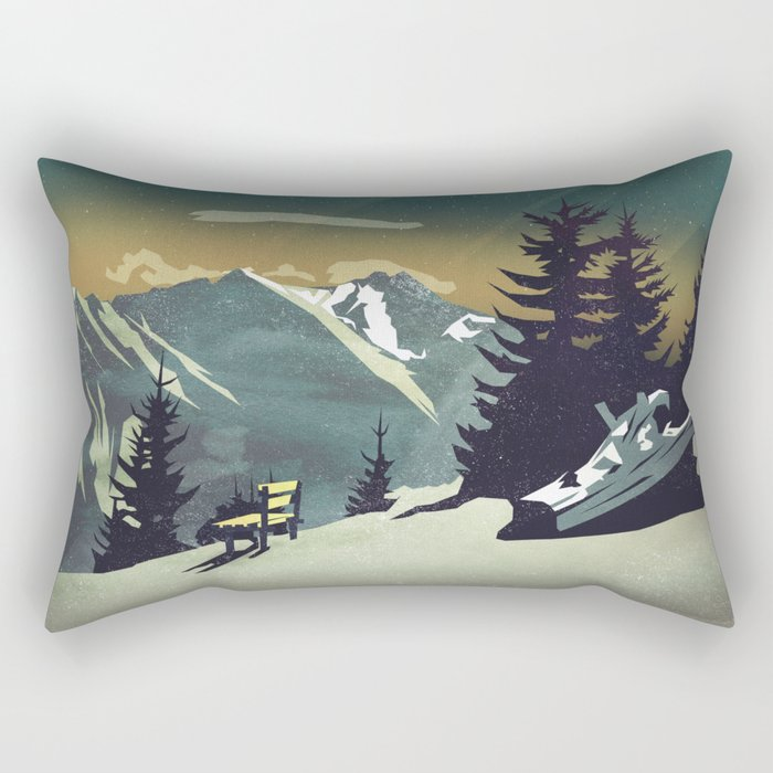 Pause Rectangular Pillow