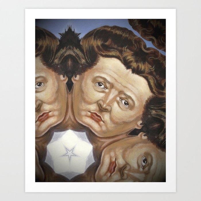 Princess St Queen of Hearts 1 Art Print