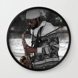 All That Jazz III Wall Clock