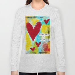KINDNESS IS LOVE Long Sleeve T-shirt