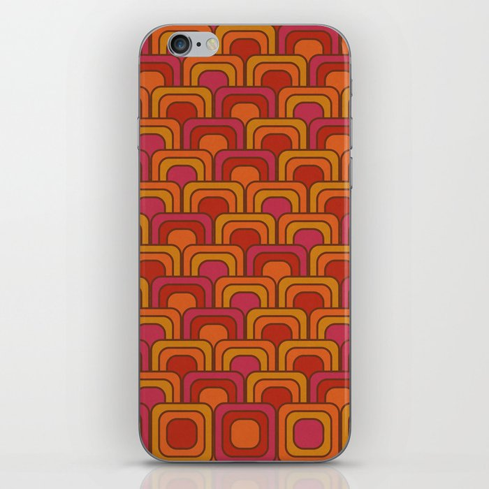 Geometric Retro Pattern iPhone Skin