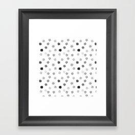 Brushmark Polka Dot Framed Art Print