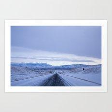 long roads Art Print