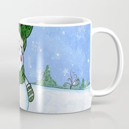 Cozy Snowman Coffee Mug