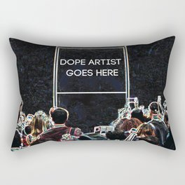 Dope Artist Goes Here Rectangular Pillow