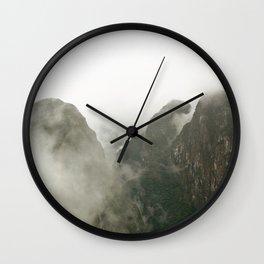 Among The Gods  Wall Clock