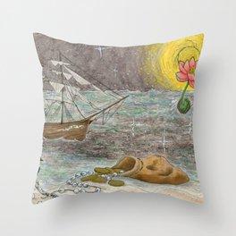 S.S. Hope Throw Pillow