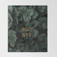 Boy, Bye - Vertical Throw Blanket