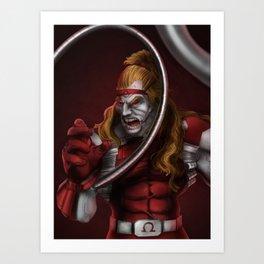 Omega Red - Marvel Villain Series Art Print