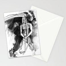 IGGY POP by carographic, Carolyn Mielke Stationery Cards