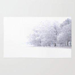 White Forest Rug