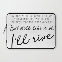 I'll rise #minimalism Laptop Sleeve
