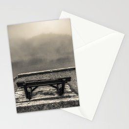 Foggy seat Stationery Cards