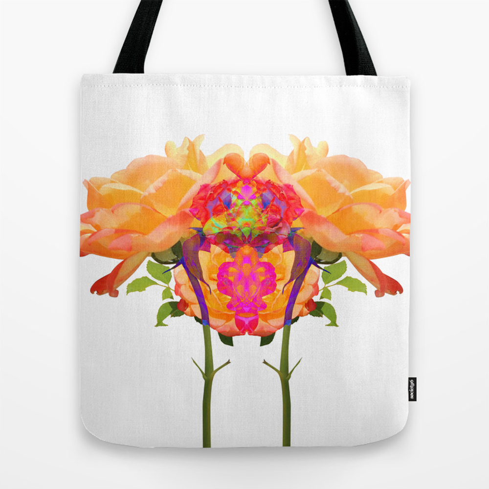 Roses Tote Bag by Plight