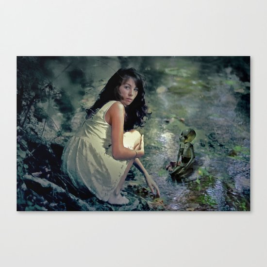 Encounter Canvas Print