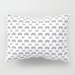 Edna Mode White Pattern nº1 Pillow Sham
