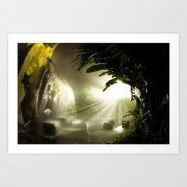 Zen Pool - Costa Rica ( Limited work of 10 prints) Art Print