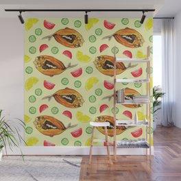 Milkfish Pattern Wall Mural