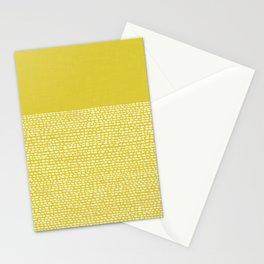 Riverside(Yellow) Stationery Cards