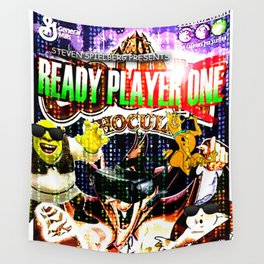 Official Ready Player One Poster Wall Tapestry