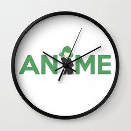 Anime Hero Inspired Shirt Wall Clock