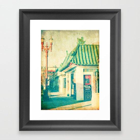 Chinese Food Framed Art Print