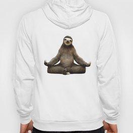 Sloth Yoga Art Print Hoody