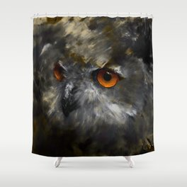 Ruler of the Night Shower Curtain