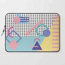 Memphis Pattern 5 - 80s - 90s - Retro Laptop Sleeve