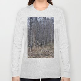 Fenced-in and Neglected Long Sleeve T-shirt