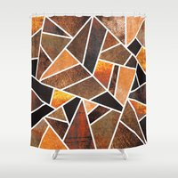 earth Shower Curtains featuring Earth by Elisabeth Fredriksson