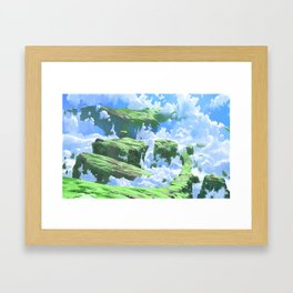 Secret World Framed Art Print