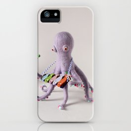 Octopus Band iPhone Case