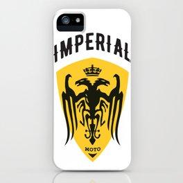 Imperial Moto iPhone Case