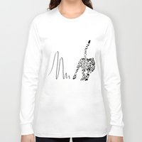 cheetah Long Sleeve T-shirts featuring Cheetah by Cole Design
