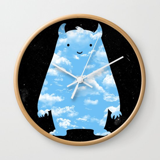 Mr. Sky Wall Clock