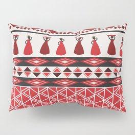 African Tribal Pattern No. 85 Pillow Sham