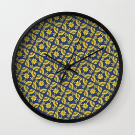 Talavera Tiles Wall Clock